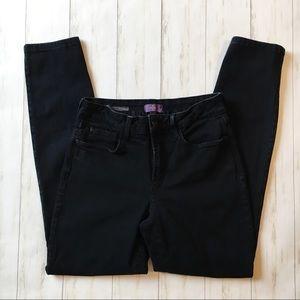 NYDJ Ami Skinny Legging Black Denim Jeans